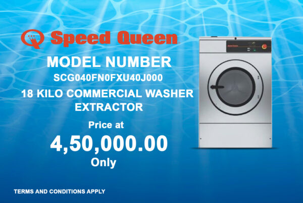 18 Kilo Commercial Washer Extractor
