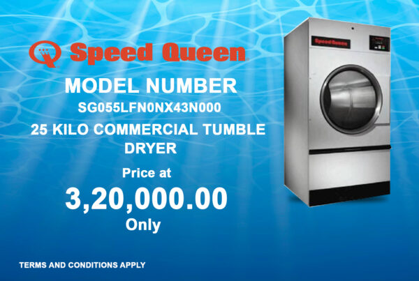 25 Kilo Commercial Tumble Dryer